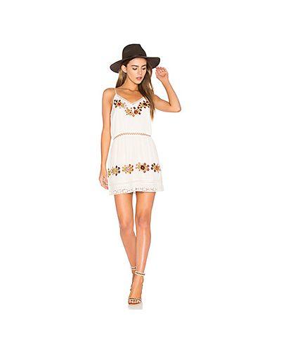 Платье платье-комбинация цвета айвори Tularosa