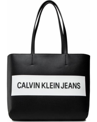 Czarna torebka casual Calvin Klein Jeans