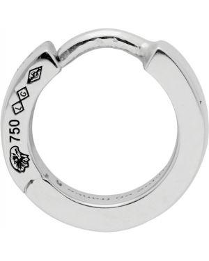 Kolczyki z logo ze srebra Le Gramme