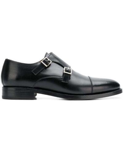 Монки черный на каблуке Berwick Shoes