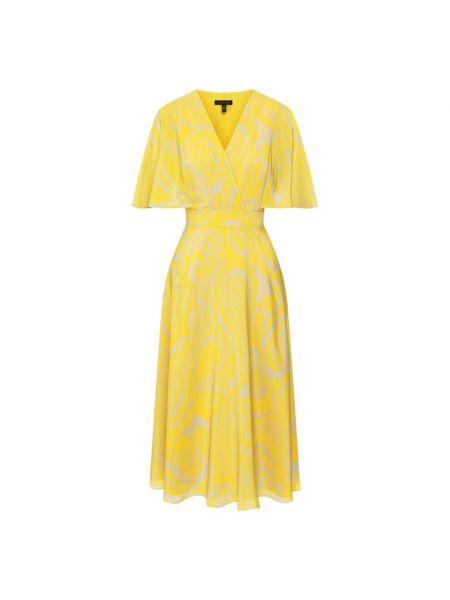 Шелковое платье с подкладкой Escada