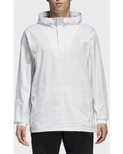 Белая ветровка Adidas