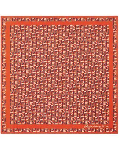 Pomarańczowa bandana Kenzo