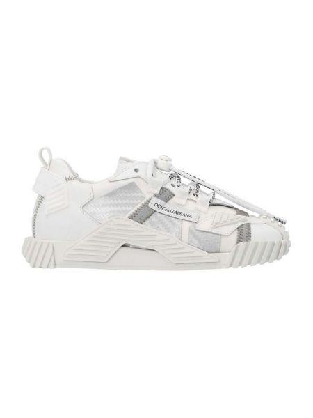 Białe sneakersy Dolce And Gabbana