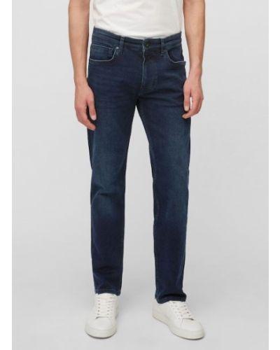 Czarne jeansy z niskim stanem Marc O Polo