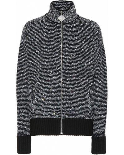 Черная спортивная куртка Alessandra Rich