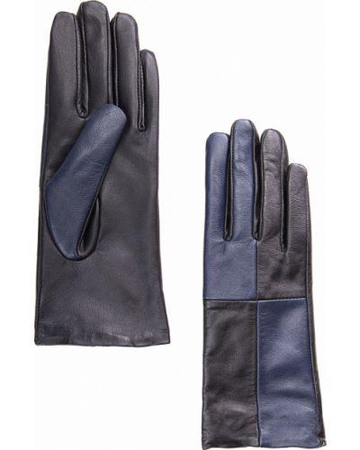 Кожаные перчатки темно-синий синий Finn Flare