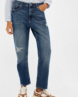 Прямые джинсы синие Springfield