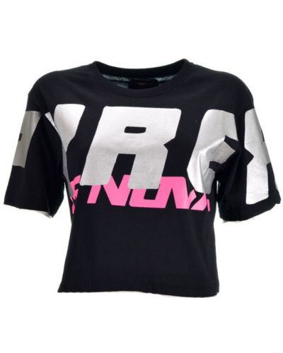 Czarny t-shirt Pyrex