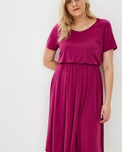 Повседневное платье весеннее розовое Svesta