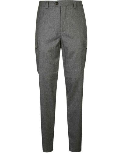Szare spodnie Brunello Cucinelli