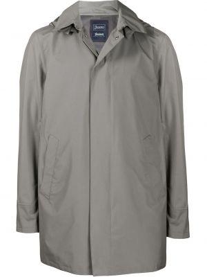 Płaszcz przeciwdeszczowy z kieszeniami długo Herno