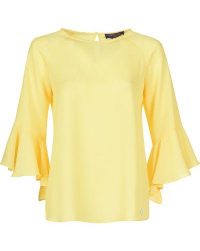 Блузка из полиэстера - желтая Trussardi Jeans