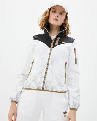 Облегченная белая куртка Aeronautica Militare