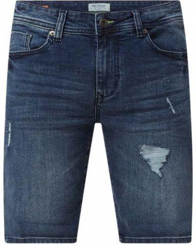 Niebieskie bermudy jeansowe bawełniane Mcneal