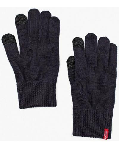 Синие перчатки текстильные Levi's®