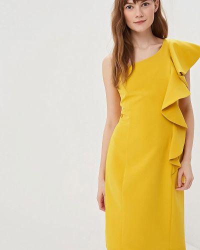 Желтое вечернее платье Juana Jimenez