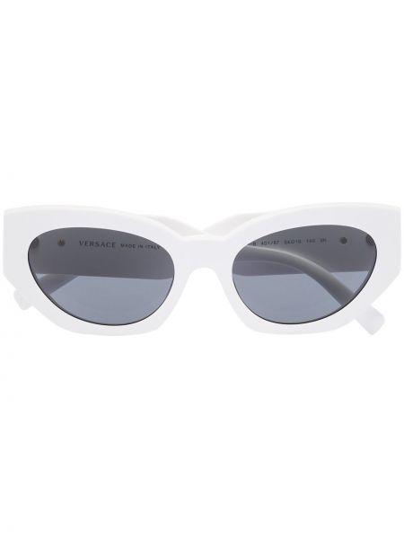Муслиновые солнцезащитные очки золотые Versace Eyewear