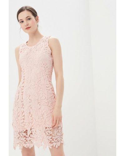Платье осеннее розовое By Swan