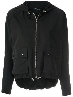 Куртка из полиэстера - черная Uma   Raquel Davidowicz