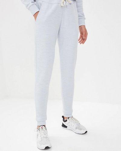 Спортивные брюки серые весенний Reebok