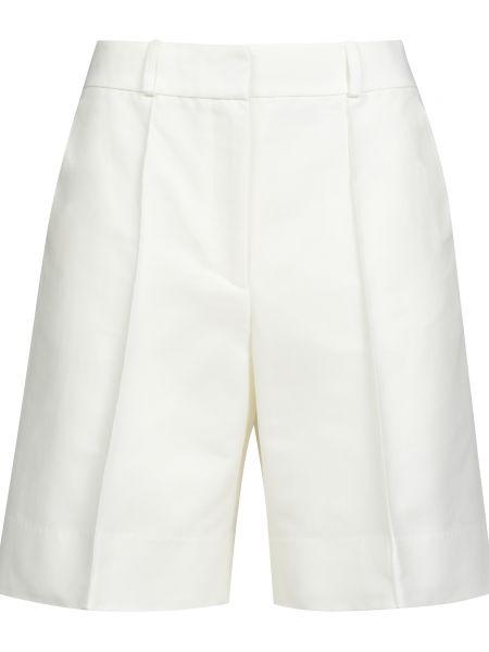 Нейлоновые белые шорты на молнии Victoria Beckham