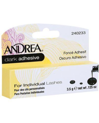 Клей для накладных ресниц черный Andrea