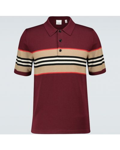 Trykotowy wełniany koszula Burberry