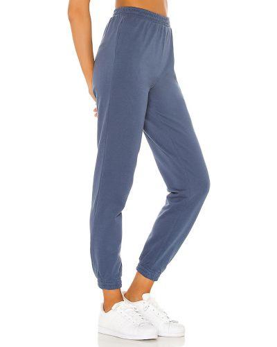 Bawełna niebieski joggery z kieszeniami z mankietami Superdown