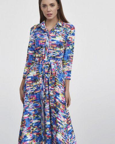 Разноцветное платье Evalution