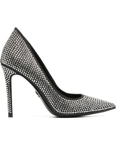 Кожаные туфли-лодочки на каблуке на высоком каблуке Michael Michael Kors