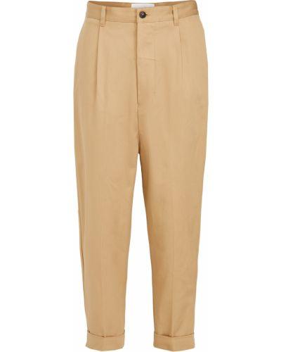 Spodnie bawełniane Ami