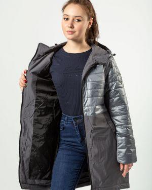 С рукавами черная куртка Grace