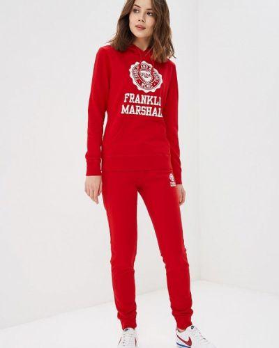 Красный спортивный костюм Franklin & Marshall