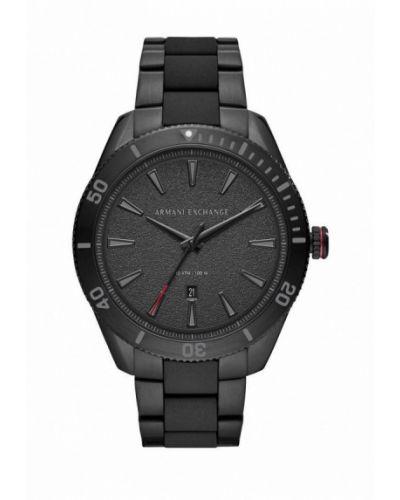 Черные часы Armani Exchange