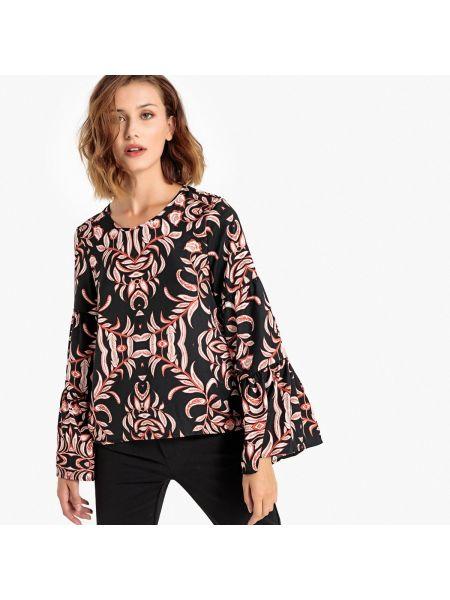Блузка с длинным рукавом прямая длинная Vero Moda