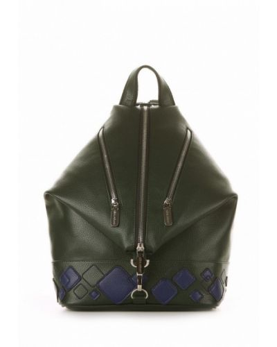 Зеленый рюкзак городской Alba Soboni