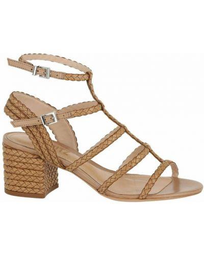 Brązowe sandały skórzane Schutz