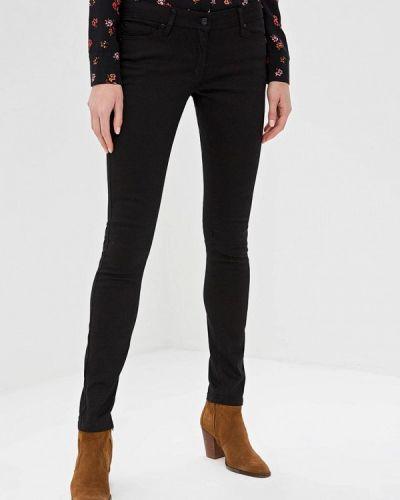 Черные джинсы-скинни с пайетками Bruebeck