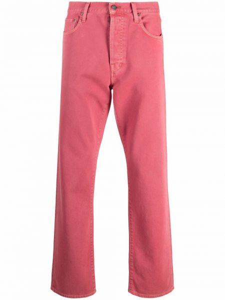 Klasyczne mom jeans - różowe Acne Studios