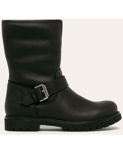 Ботинки на каблуке черные Panama Jack