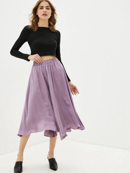 Юбочный костюм фиолетовый черный Trendyangel