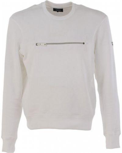 Bluza dresowa - biała Armani Jeans