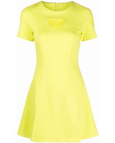 Расклешенное платье - зеленое Paskal