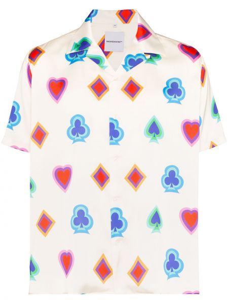 Рубашка с короткими рукавами на пуговицах Nasaseasons