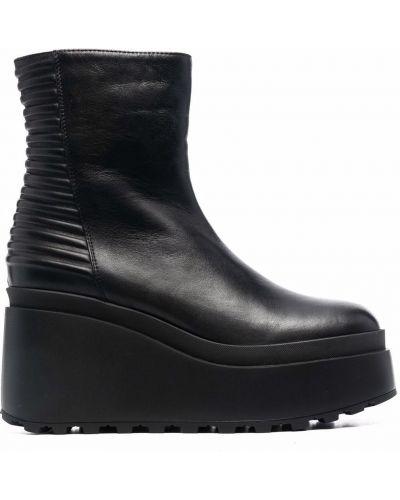 Кожаные ботинки - черные Vic Matie
