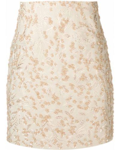 Плиссированная юбка мини с пайетками Noon By Noor
