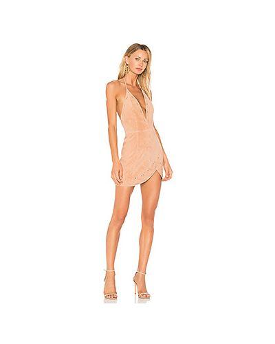 Вечернее платье розовое мини X By Nbd