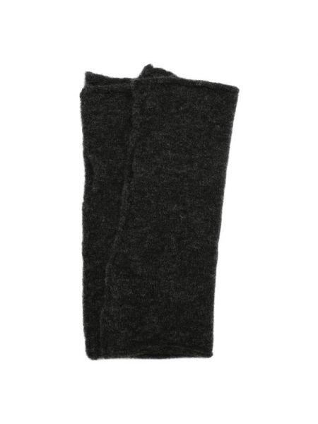 Шерстяные серые перчатки Isabel Benenato