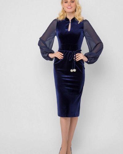 Вечернее платье - синее Jn